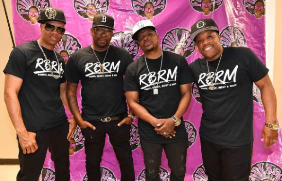 RBRM: Ronnie DeVoe, Bobby Brown, Ricky Bell & Michael Bivins at MGM Grand Theater at Foxwoods