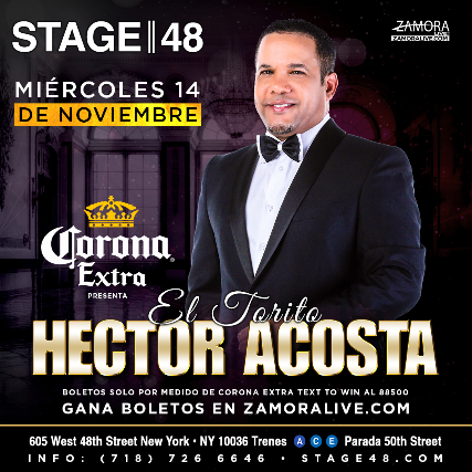 Hector Acosta at MGM Grand Theater at Foxwoods