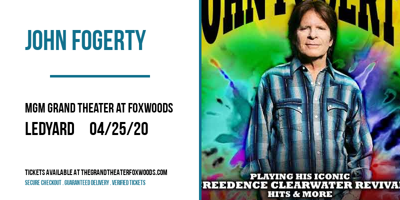 John Fogerty at MGM Grand Theater at Foxwoods