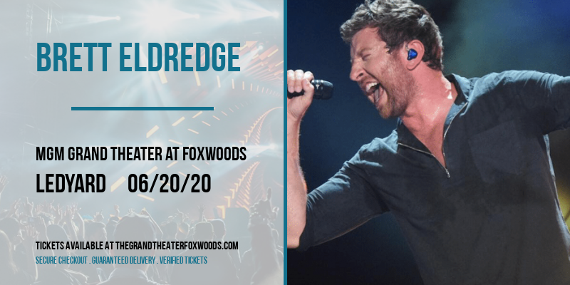 Brett Eldredge [CANCELLED] at MGM Grand Theater at Foxwoods