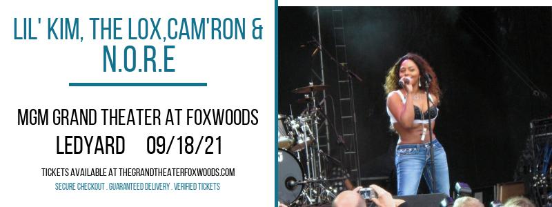Lil' Kim, The Lox,Cam'ron & N.O.R.E at MGM Grand Theater at Foxwoods