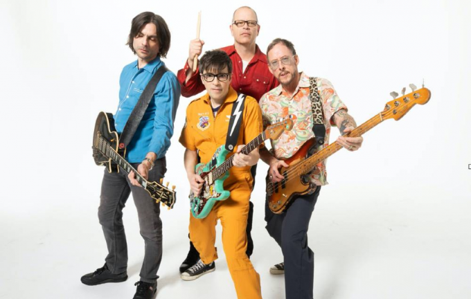 Weezer at MGM Grand Theater at Foxwoods