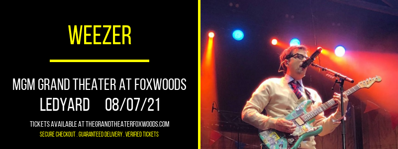 Weezer [CANCELLED] at MGM Grand Theater at Foxwoods