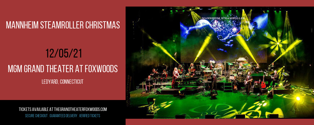 Mannheim Steamroller Christmas at MGM Grand Theater at Foxwoods