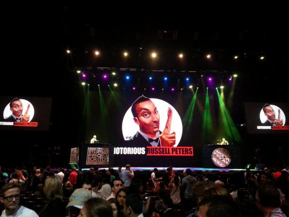 Russell Peters at MGM Grand Theater at Foxwoods