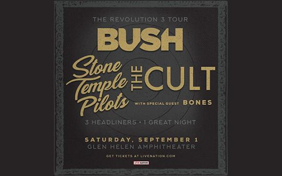 The Cult, Bush & STP at MGM Grand Theater at Foxwoods