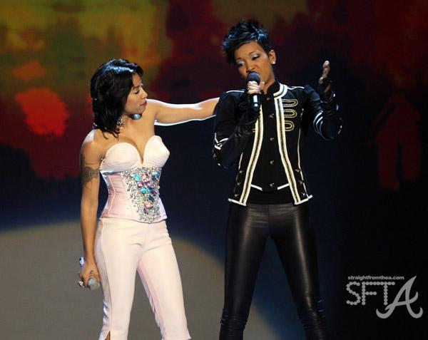 Monica & Keyshia Cole at MGM Grand Theater at Foxwoods