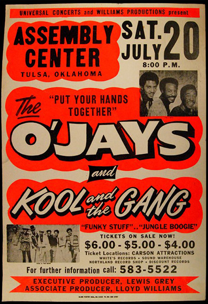 The O'Jays & Kool and The Gang at MGM Grand Theater at Foxwoods