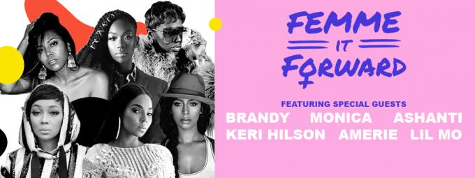 Femme It Forward Tour: Monica, Ashanti, Amerie, Keri Hilson & Lil Mo at MGM Grand Theater at Foxwoods