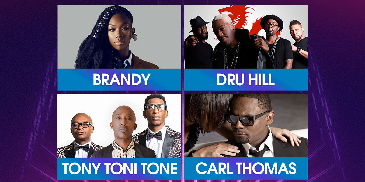 An Evening Of Love: Brandy, Dru Hill, Tony Toni Tone & Carl Thomas at MGM Grand Theater at Foxwoods