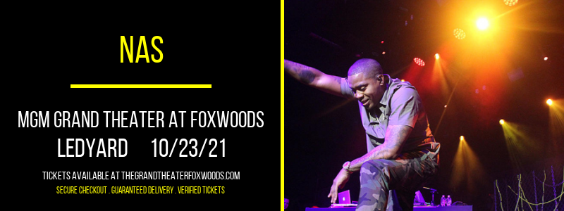 Nas at MGM Grand Theater at Foxwoods