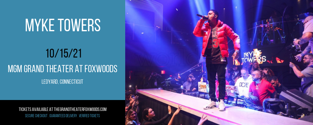 Myke Towers at MGM Grand Theater at Foxwoods